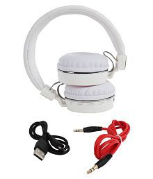 Gadget Hero's SH10 Wireless Bluetooth Headphone White