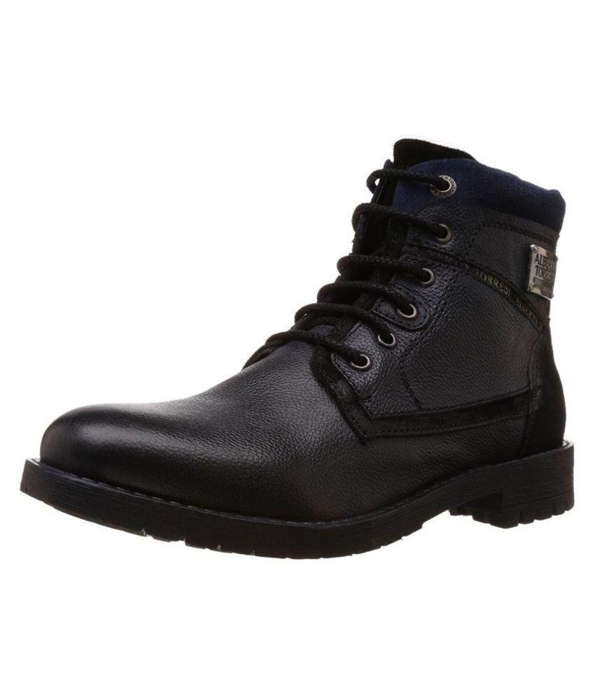 Alberto Torresi Black Formal Boot
