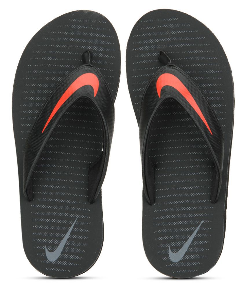 fa572eec5 Nike Chroma Thong 5 Black Thong Flip Flop Price in India- Buy Nike Chroma  Thong 5 Black Thong Flip Flop Online at Snapdeal