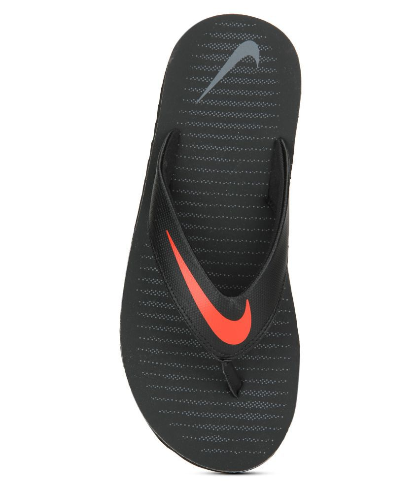 Nike Chroma Thong Black Thong Flip Flop outlet top quality Hkn1CXx