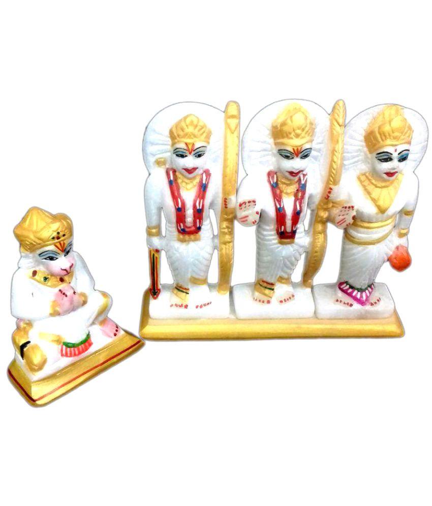 Wonder Creations Vishnu Marble Idol