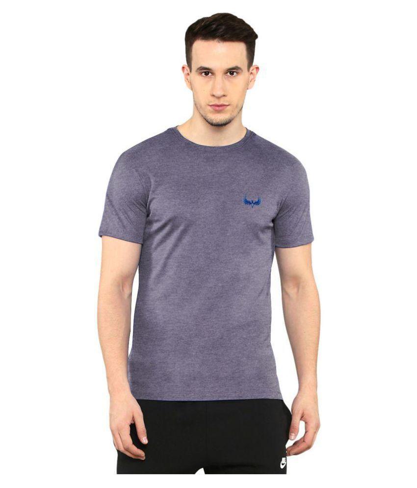 Avenster Purple Round T-Shirt