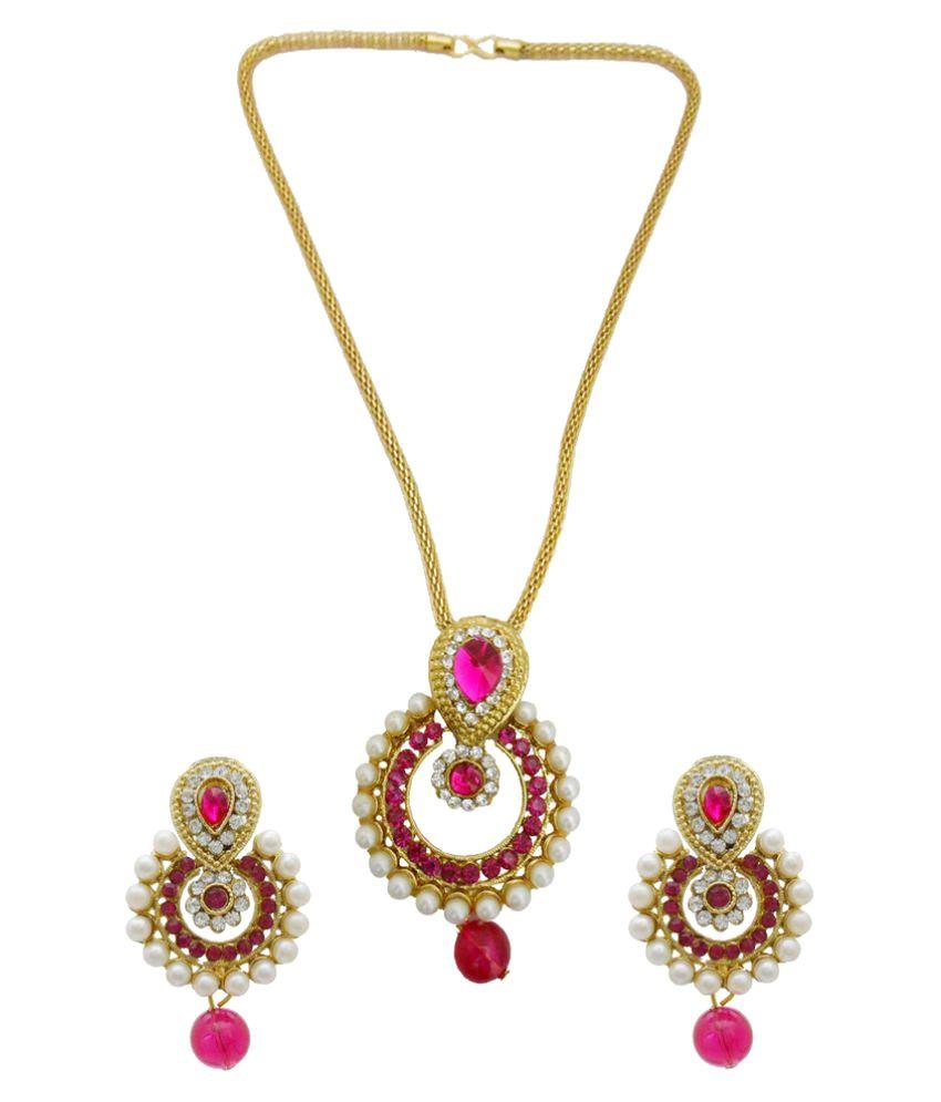 My Design Multicolor Alloy Necklaces Set