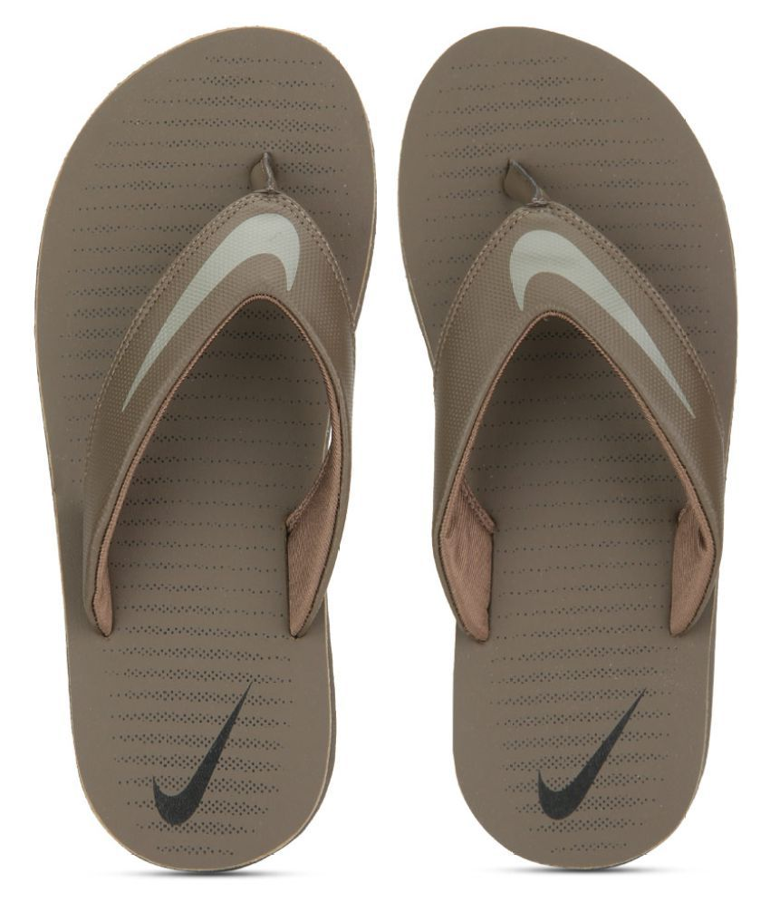 11e26495 Nike Chroma Thong 5 Brown Thong Flip Flop Price in India- Buy Nike Chroma  Thong 5 Brown Thong Flip Flop Online at Snapdeal