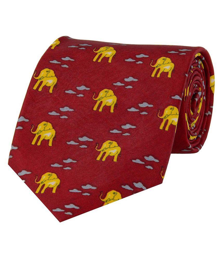 Tiekart Red Casual Necktie