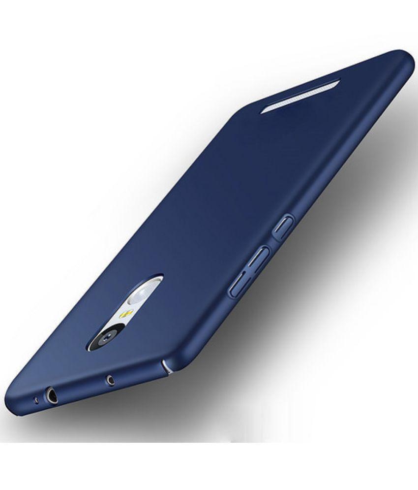 huge discount 8e220 c0dc6 Xiaomi Redmi Note 3 Plain Cases DEV - Blue
