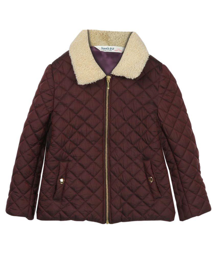 Beebay Maroon Jacket