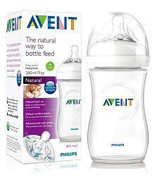 Philips Avent White Feeding Bottle