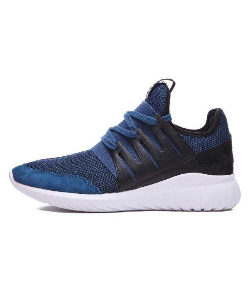 Adidas Tubular Radial Blue Basketball Shoes ...