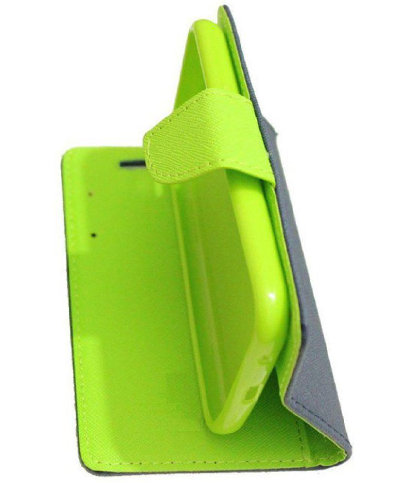 Samsung Galaxy j2 Flip Cover by Goldenize - Blue