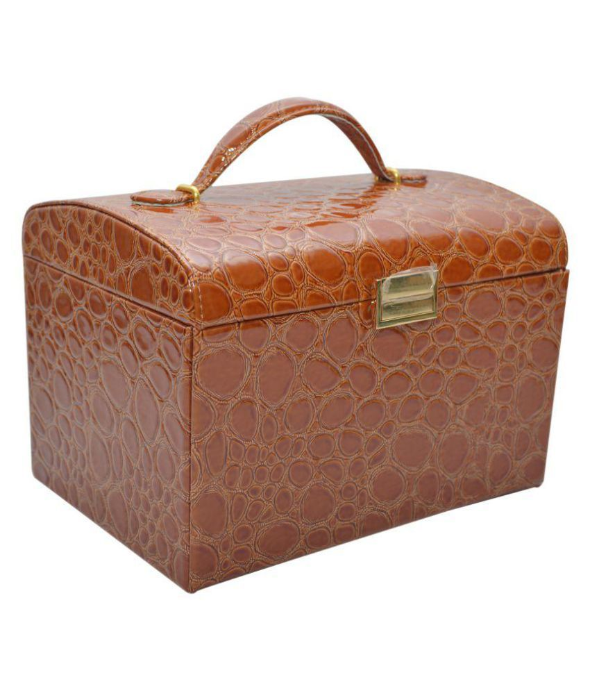 f6cbe6c8436 Knott Brown Jewellery Box  Buy Knott Brown Jewellery Box Online in India on  Snapdeal