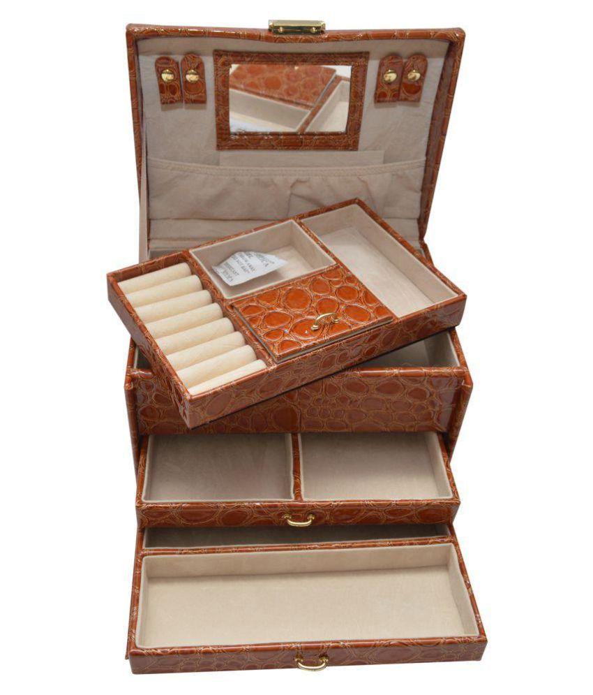 6da13aca43a Knott Brown Jewellery Box  Buy Knott Brown Jewellery Box Online in ...
