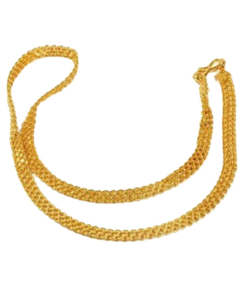 J S Imitation Golden Chain: Buy Online at Low Price in India ...