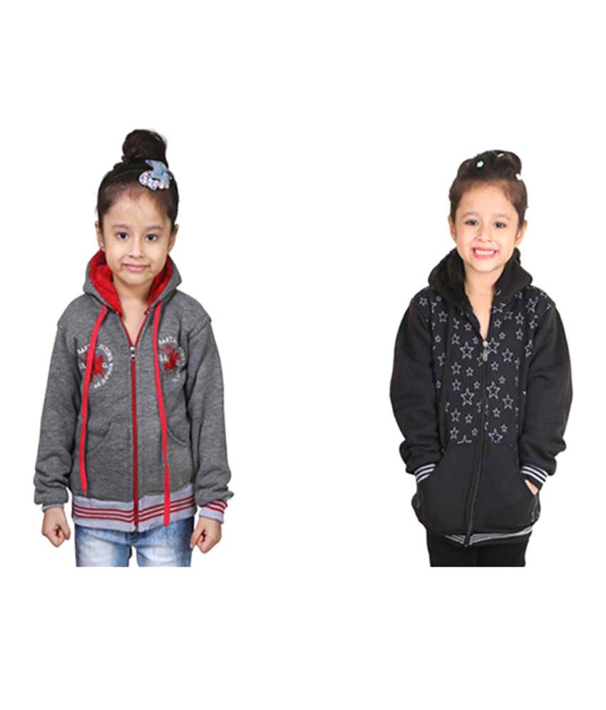 Qeboo Multicolour Jacket - Pack of 2
