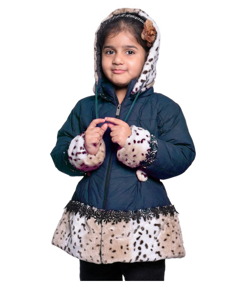 Come in Kids Dark Blue Quilted & Bomber Jackets