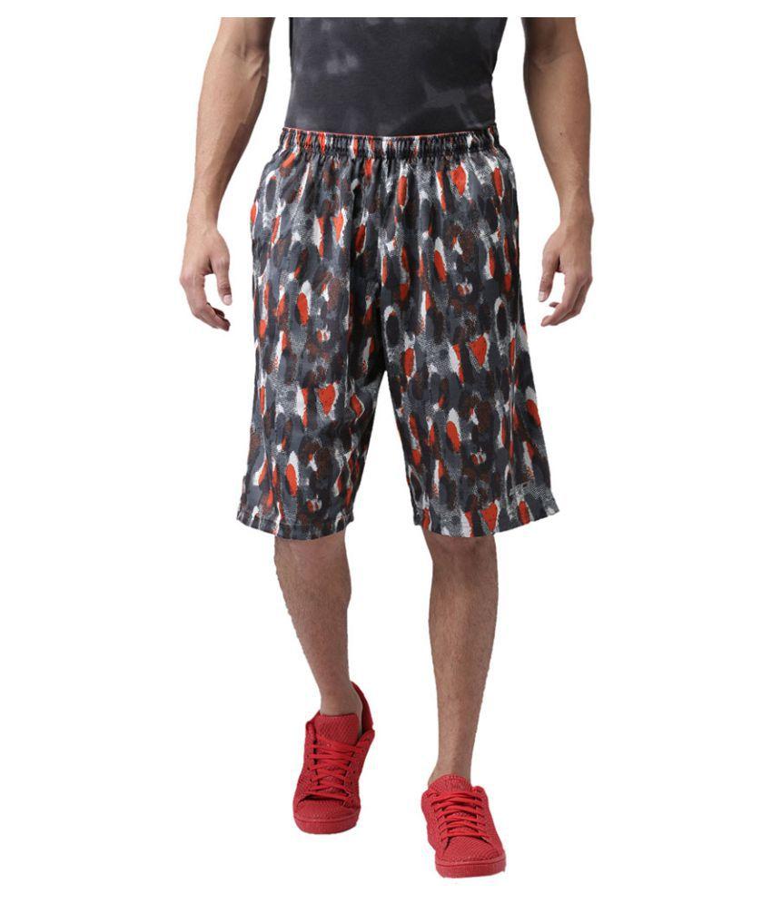 2Go Multi Polyester Basketball Shorts Single