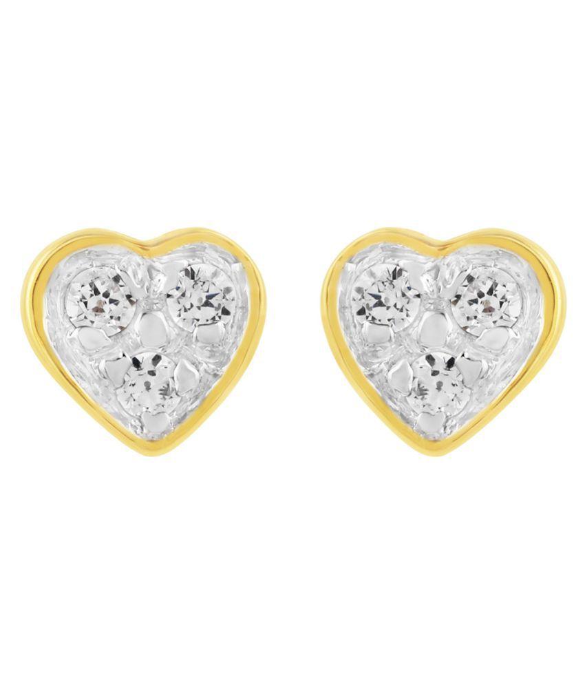 Allure Jewellery 92.5 Silver Cubic zirconia Studs