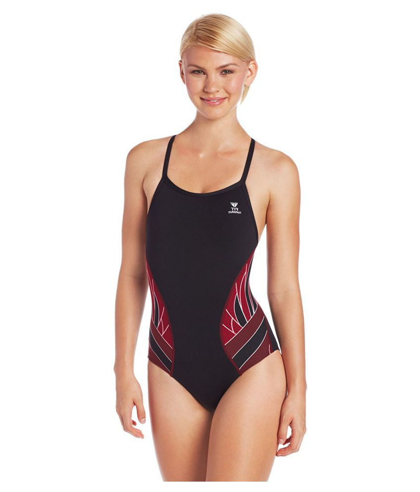 TYR Sport Womens Phoenix Splice Diamond Fit Swimsuit