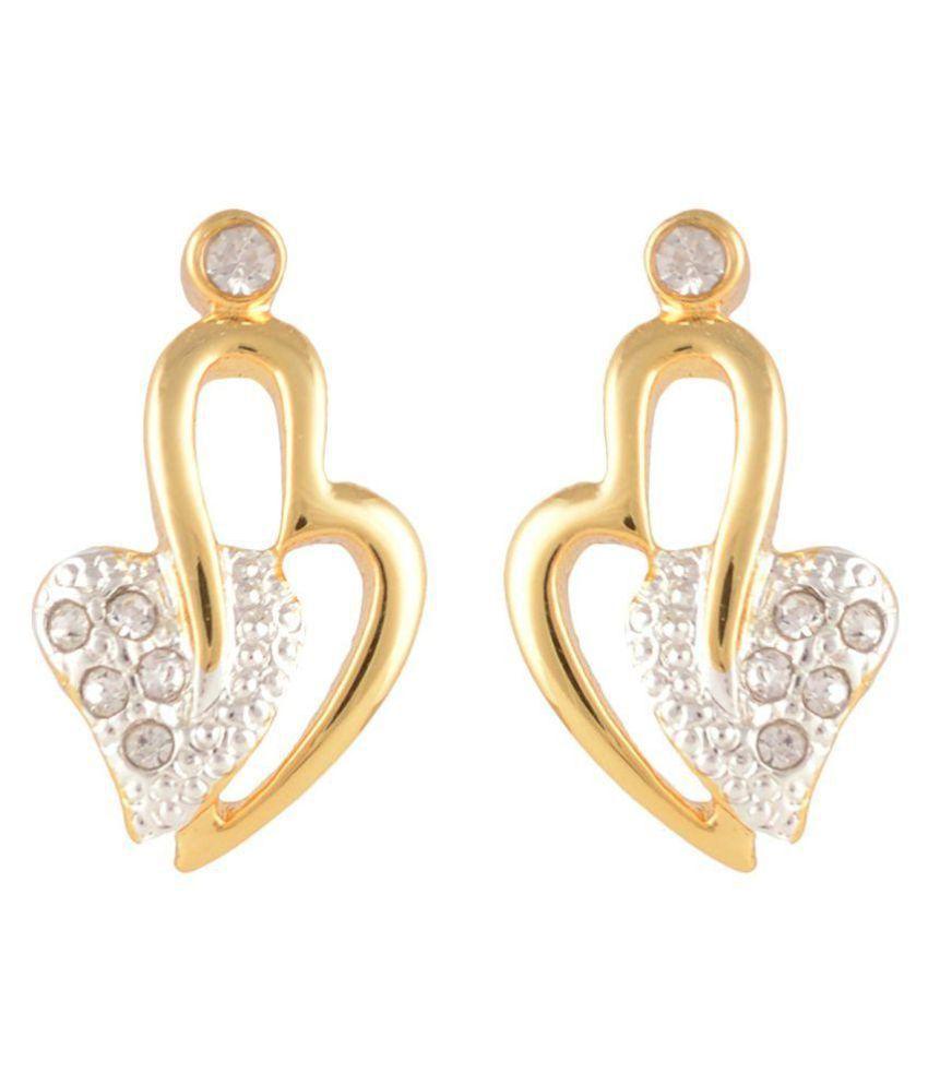 7d7d77c04d004 Estelle Gold Plated Stud Earrings
