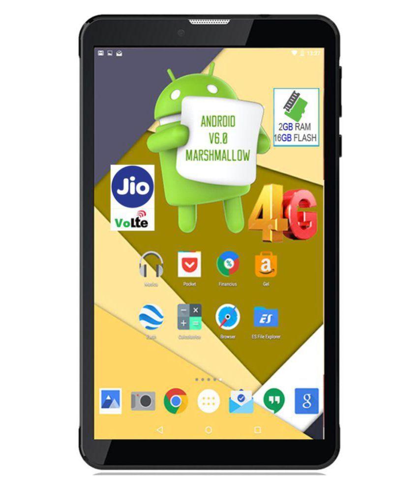 I Kall N5-16GB VoLTE Black ( 4G + Wifi , Voice calling )