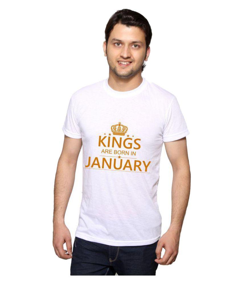Swager White Round T-Shirt