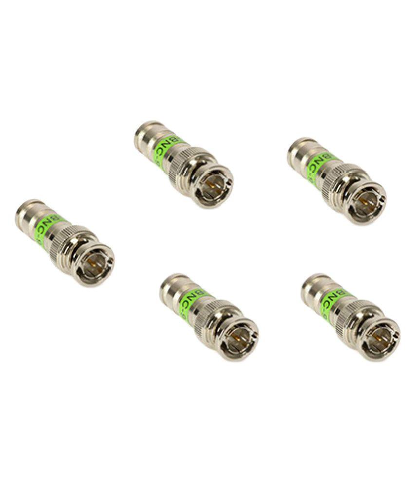 Tentronix Metal BNC Connectors - Pack of 5