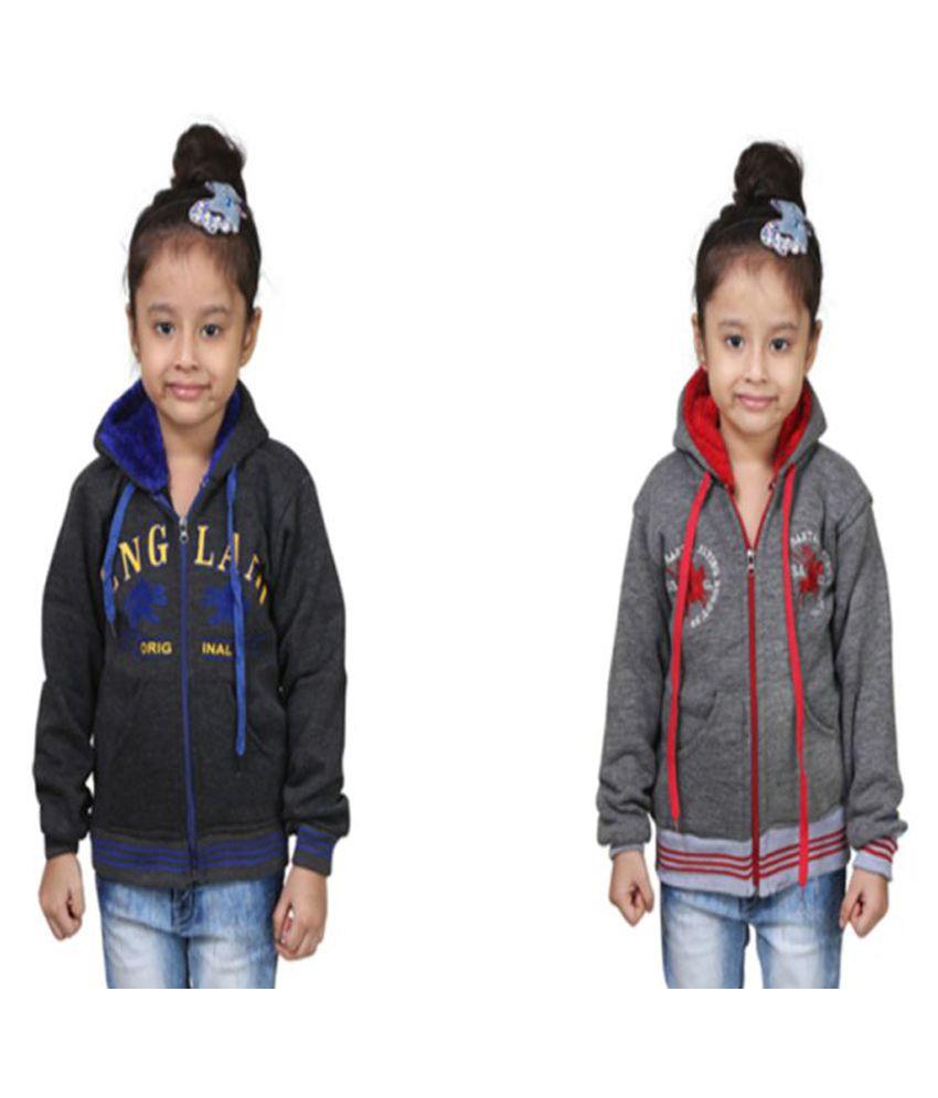 Crazeis Multicolor Sweatshirt - Pack of 2