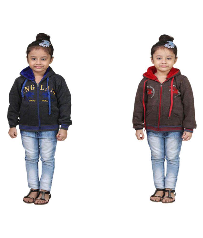 Qeboo Combo For Girls Sweatshirts