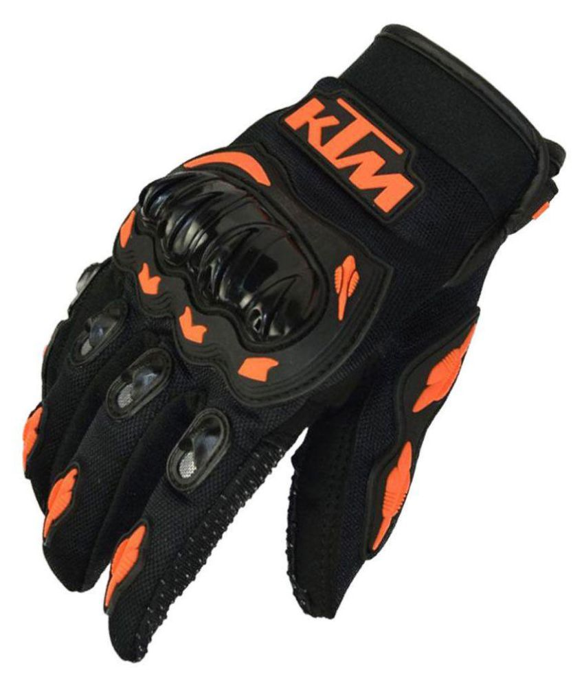 Buy leather hand gloves online india - Quick View Ktm Hand Gloves