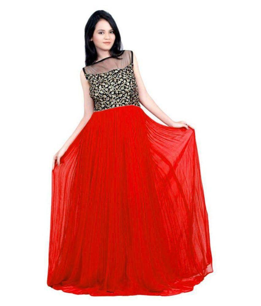 Raj Enterprise Georgette Ball gowns