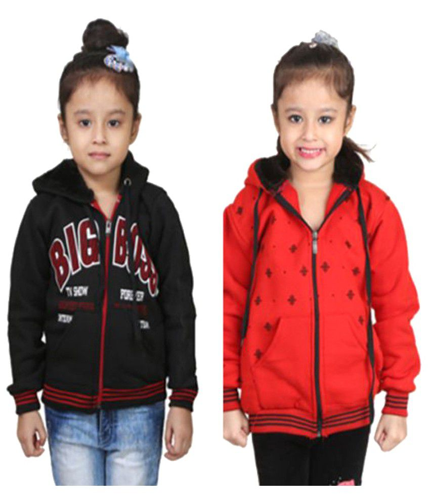 Crazeis Combo For Girls Sweatshirts