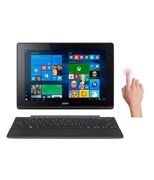 Acer Aspire SW3 016  NT.G8VSI.001  2 in 1 Laptop  Intel Atom  2 GB RAM  32 GB eMMC  25.65 cm  10.1  Touch  Windows 10   Shark Gray