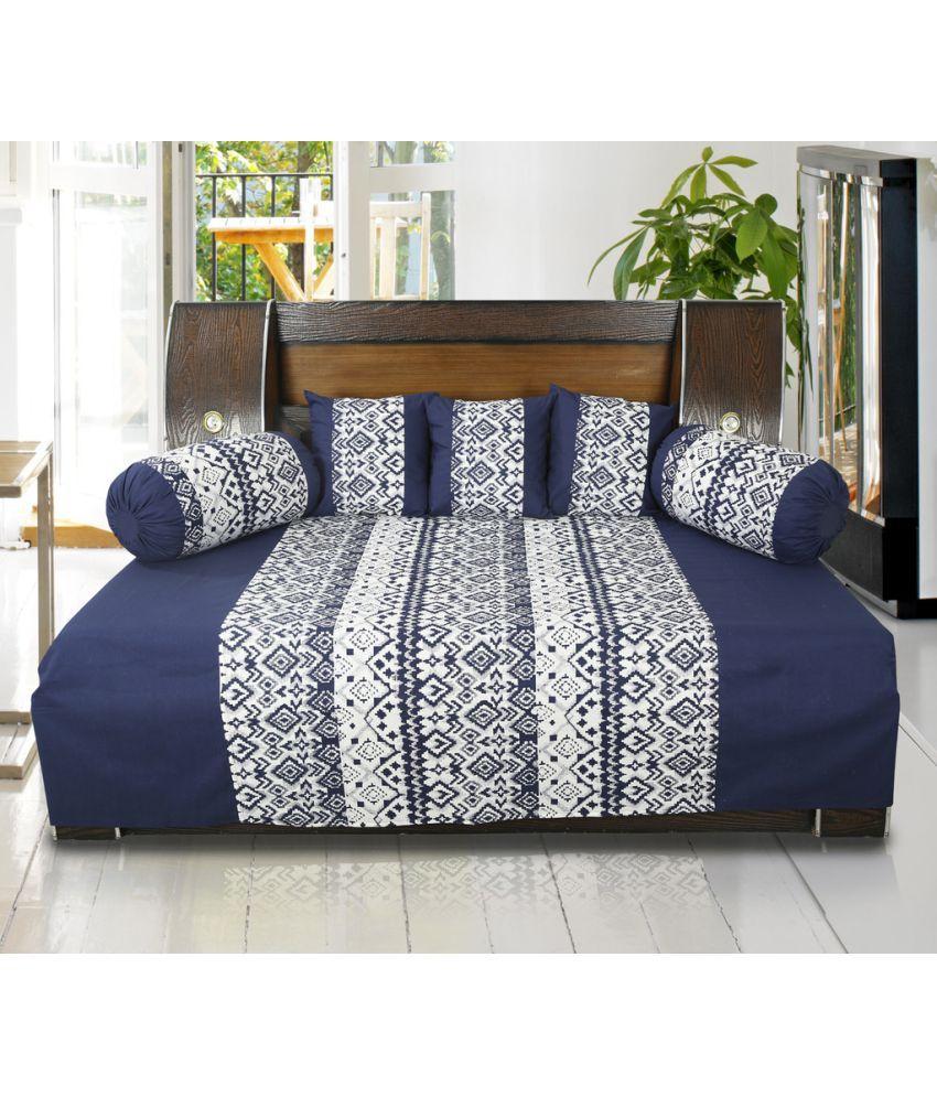 Dekor World Cotton Blue Set Contents