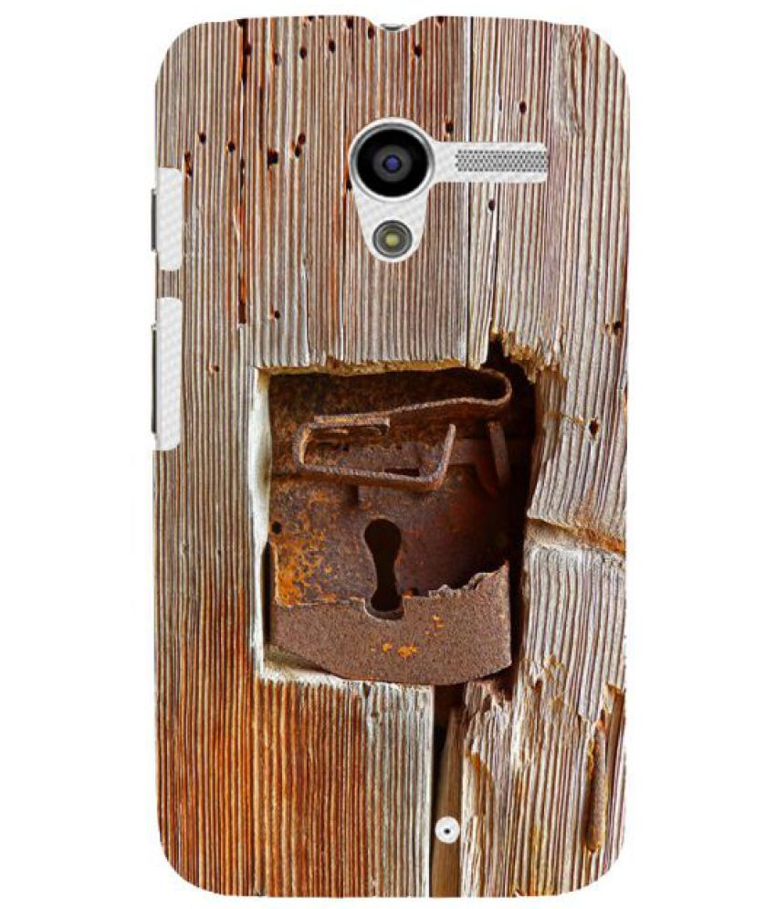 Moto X 3D Back Covers By Fuson