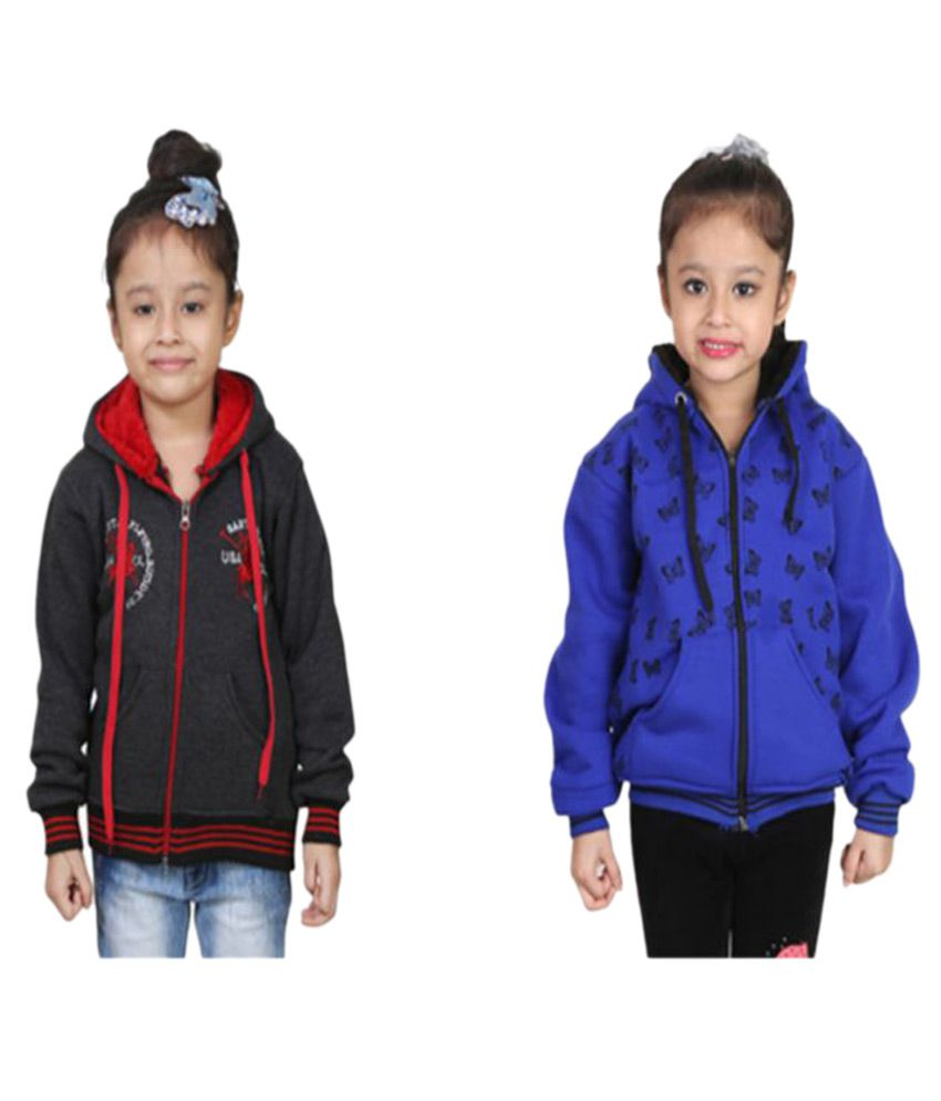 Crazeis Multicolour Sweatshirt - Pack of 2