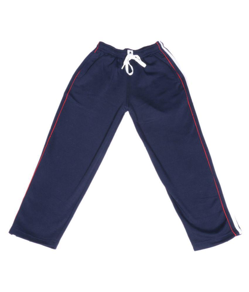 Indiweaves Navy Blue Wollen Pyjamas