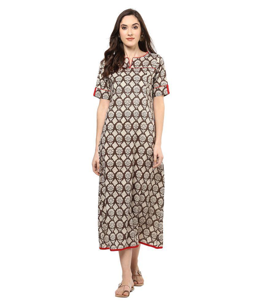 78ebaa82d49f Jaipur Kurti Cotton Dresses - Buy Jaipur Kurti Cotton Dresses Online at  Best Prices in India on Snapdeal
