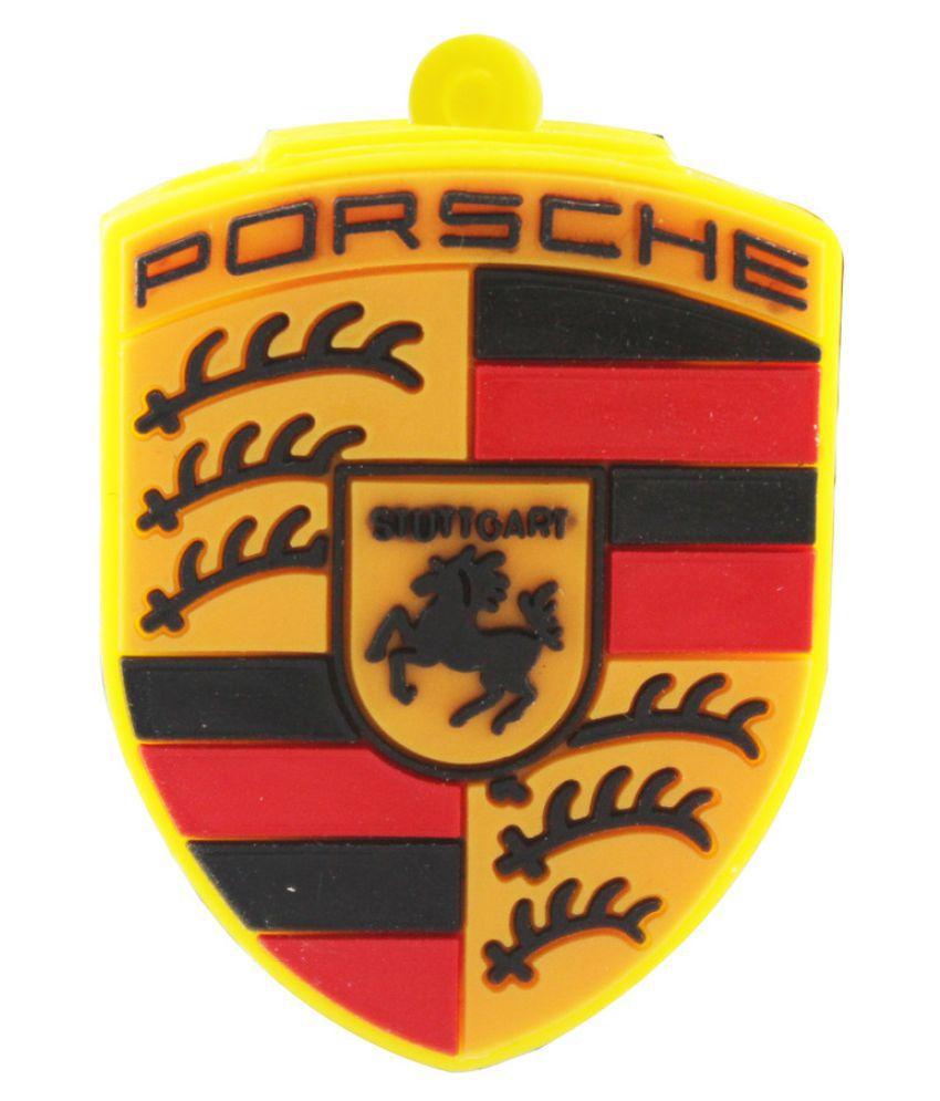 Probus Porsche logo 32GB USB 2.0 Fancy Pendrive Multicolour