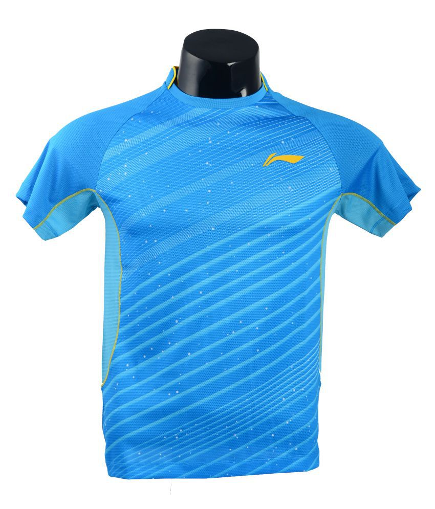 Li-Ning Blue T-Shirt