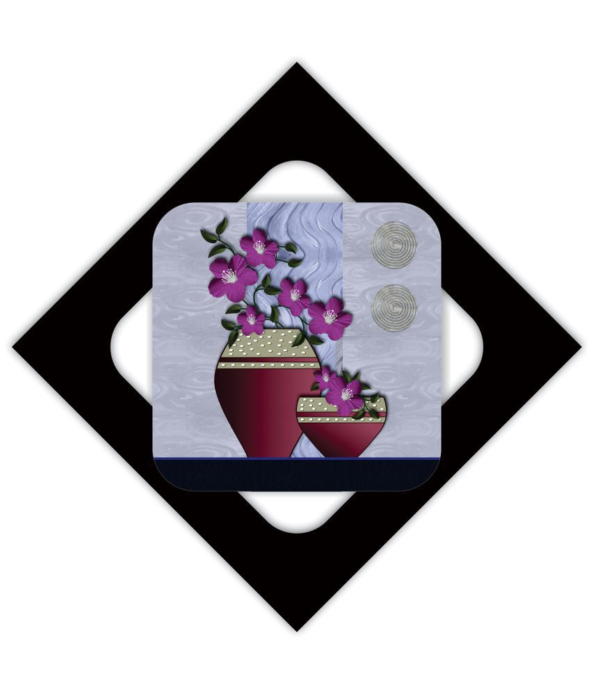 Delight MDF Painting With Frame Single Piece