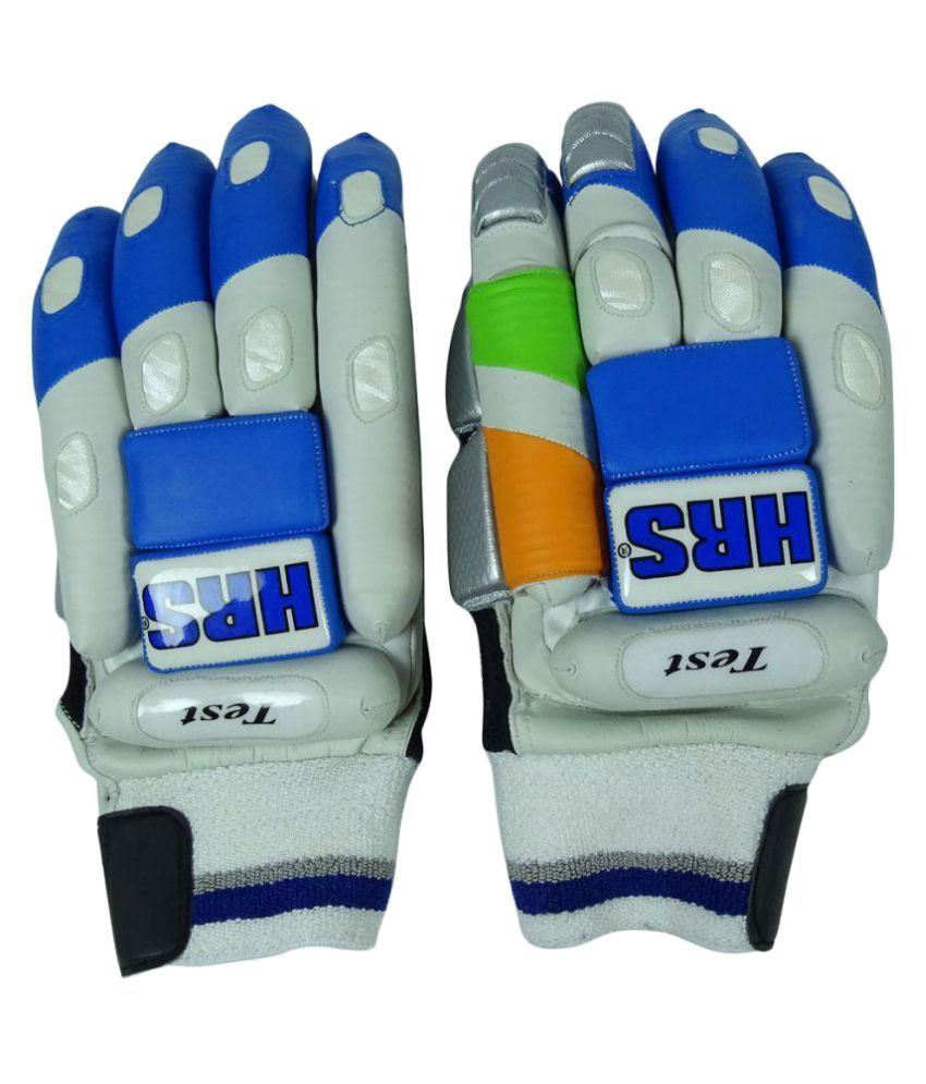 a43f92f7770 HRS Test Cricket Batting Gloves  Buy Online at Best Price on Snapdeal