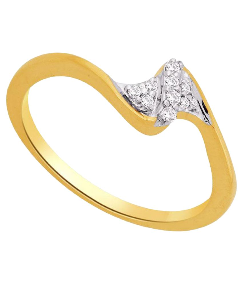 Maya Diamonds 18k Yellow Gold Diamond Ring