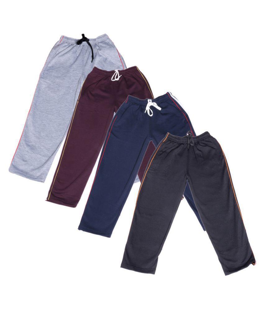 IndiWeaves Multicolor Pyjamas  - Pack of 4