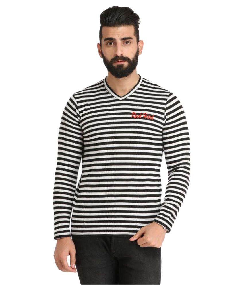 Rockhard Multi V-Neck T-Shirt