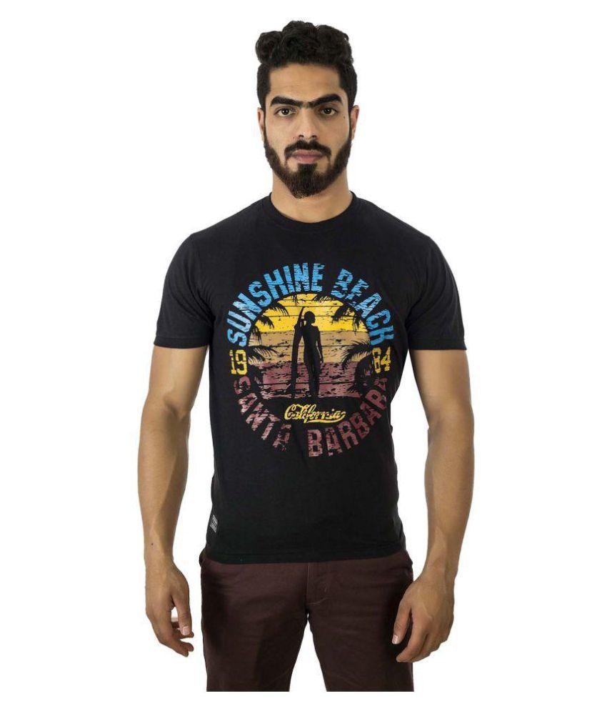 Groviano Black Round T-Shirt