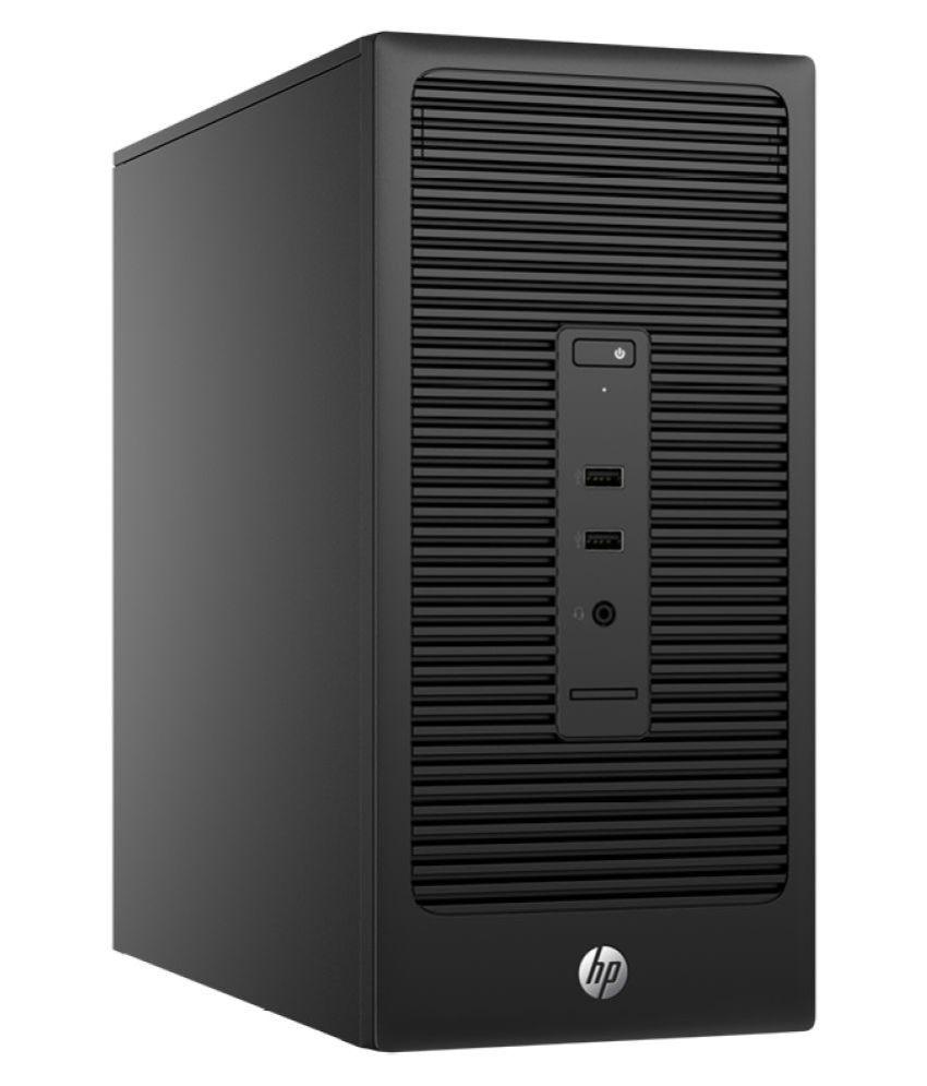 HP 285 G2 AMD A8 Tower Desktop ( AMD 4 GB 500 GB DOS ...