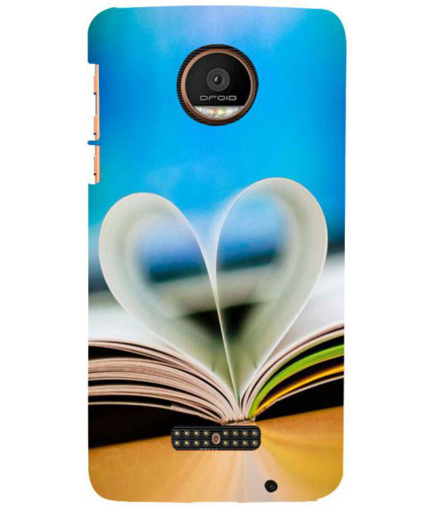 Moto Z Force Droid 3D Back Covers By Fuson