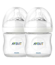 Philips Avent Natural Bottle (Twin Pack) - 125ml Each