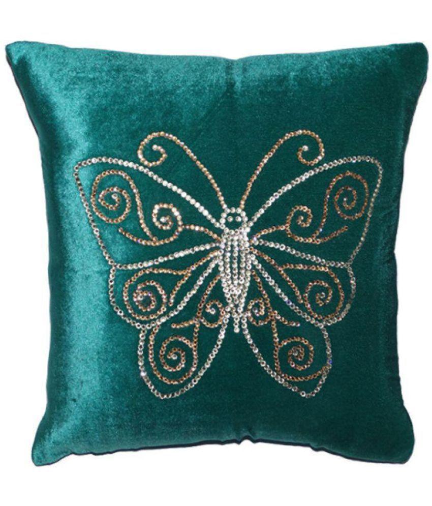 Decorative Home Set of 5 Velvet Cushion Covers