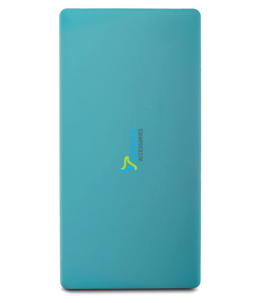 b70ffa2a3 Syska POWER SLICE 100 10000 mAh Li-Polymer Power Bank - Power Banks Online  at Low Prices